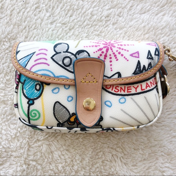 Dooney & Bourke Accessories - RARE Dooney & Bourke Disney Wristlet